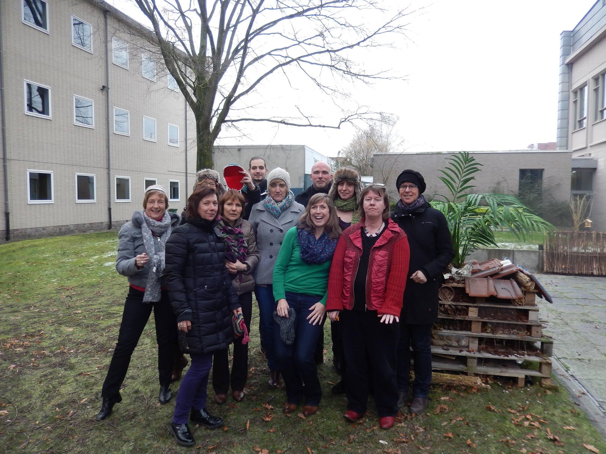 Fata MOSgana week op De Handelsschool Aalst - Mos team foto