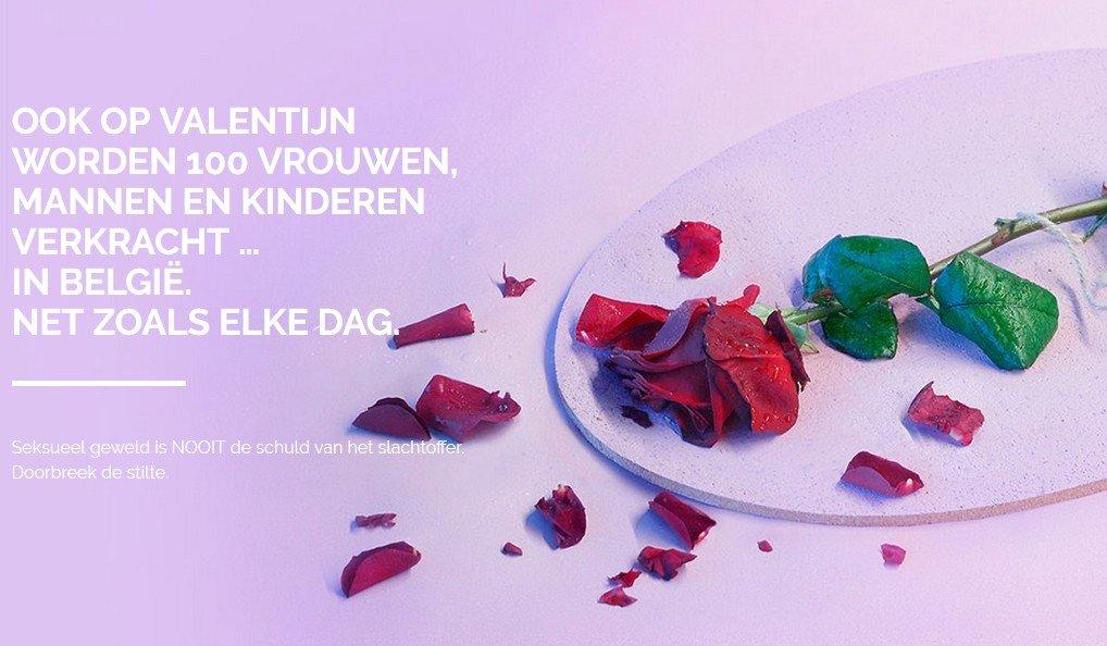 Ook op Valentijn worden honderd vrouwen, mannen en kinderen verkracht - roos