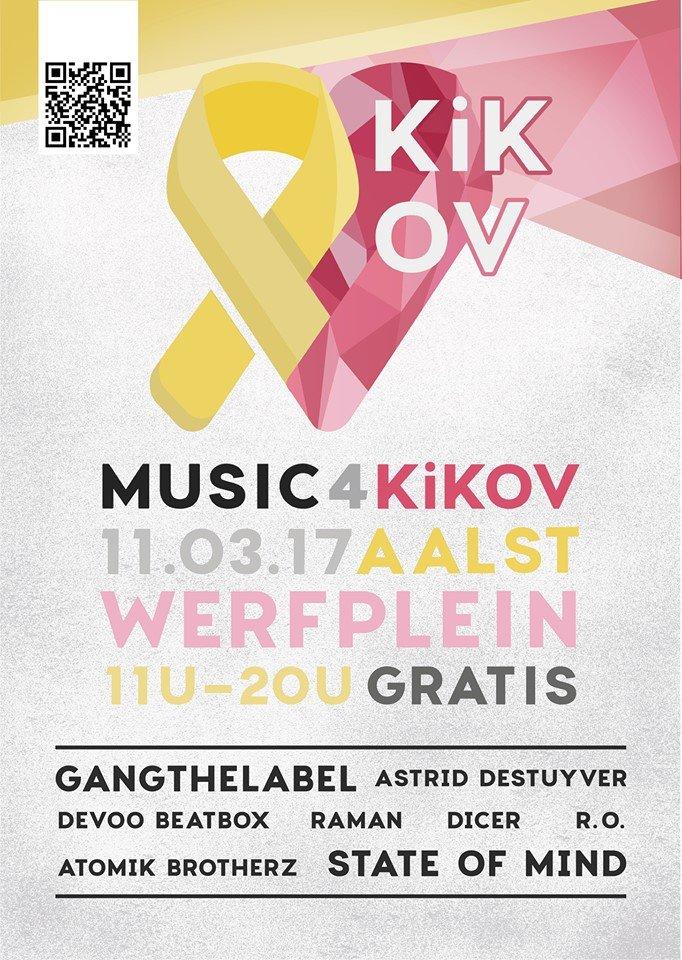 Studenten organiseren benefietconcert in Aalst - Music4kikov