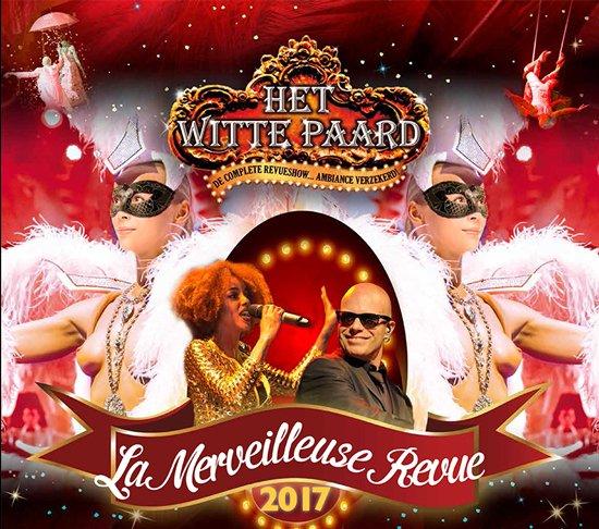 Witte paard Blankenberge maakt zich op voor Paas- en Zomershow - La merveilleuse revue 2017