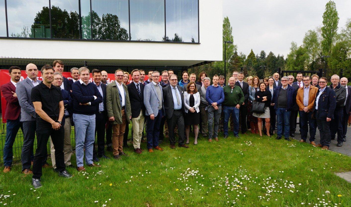 Nieuwe bedrijvenvereniging Aalst Zuid vzw werkt aan de toekomst - foto aalst vzw zuid