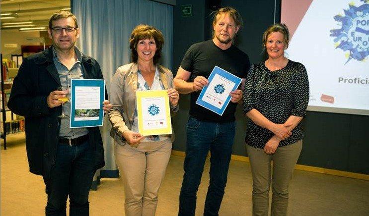 Winnaars kraslotenwedstrijd Pop up Europa Herentals - cprovincie antwerpen