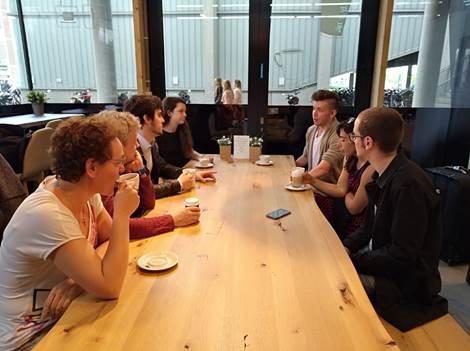 Amerikaanse jobstudenten bij HoGent - foto hogent
