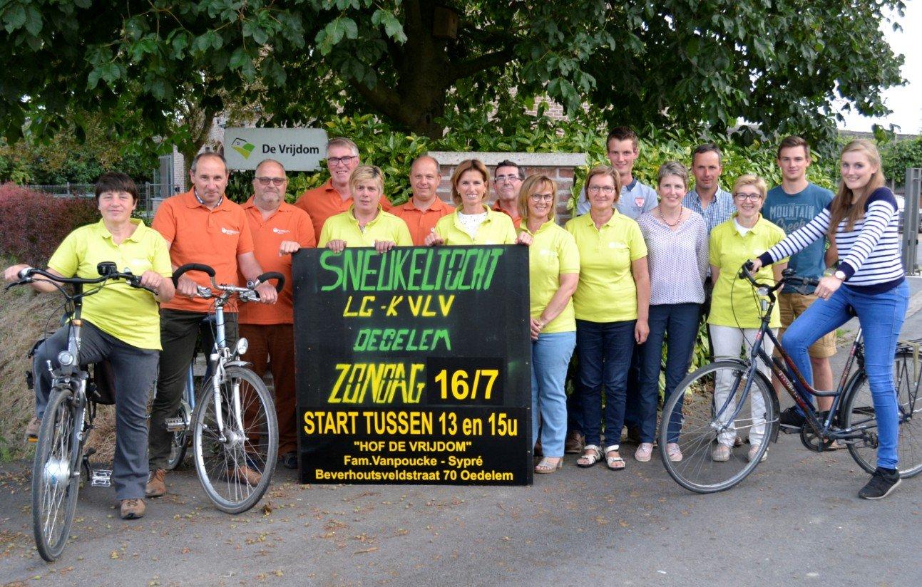Agenda - Fietssneukeltoer LG en Kvlv Oedelem - fietssneukeltocht