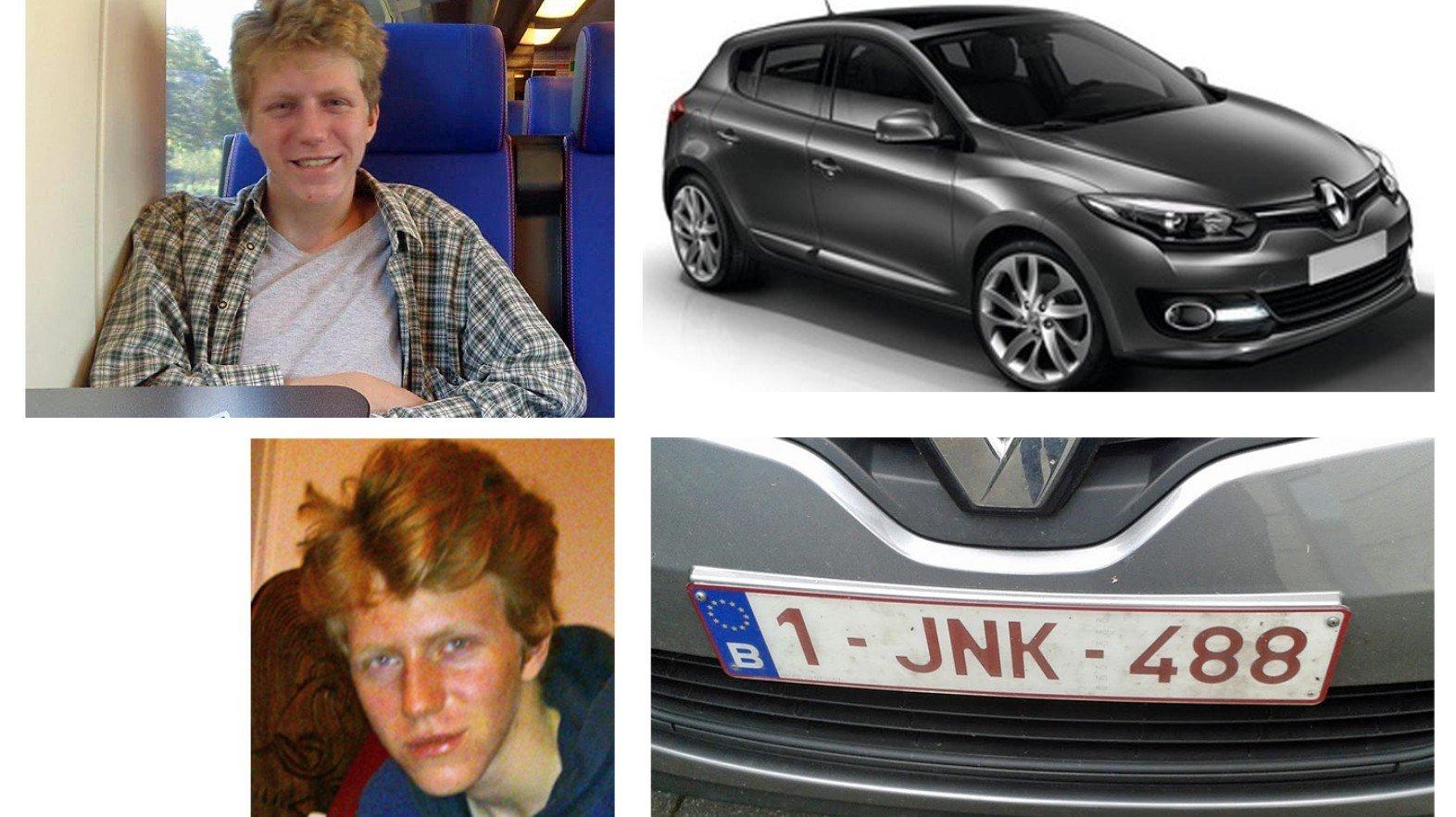 Vermissing van Sam HOUTHUYS 24/06/17 in Merelbeke - opsporing