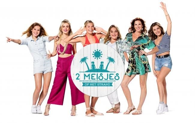 Oostende maakt zich opnieuw klaar voor 2 meisjes op het strand - 2 meisjes