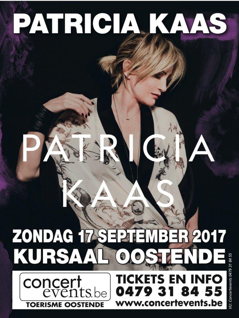 Patricia Kaas concerteert in het Kursaal van Oostende - patricia kaas