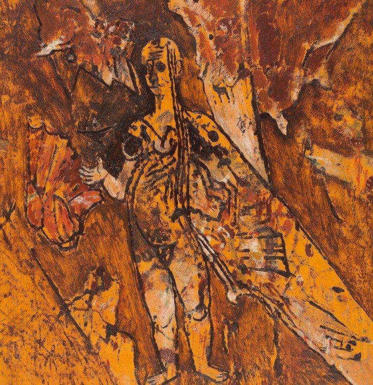 Teruggave schilderijen Frits Van den BergheTeruggave schilderijen Frits Van den Berghe