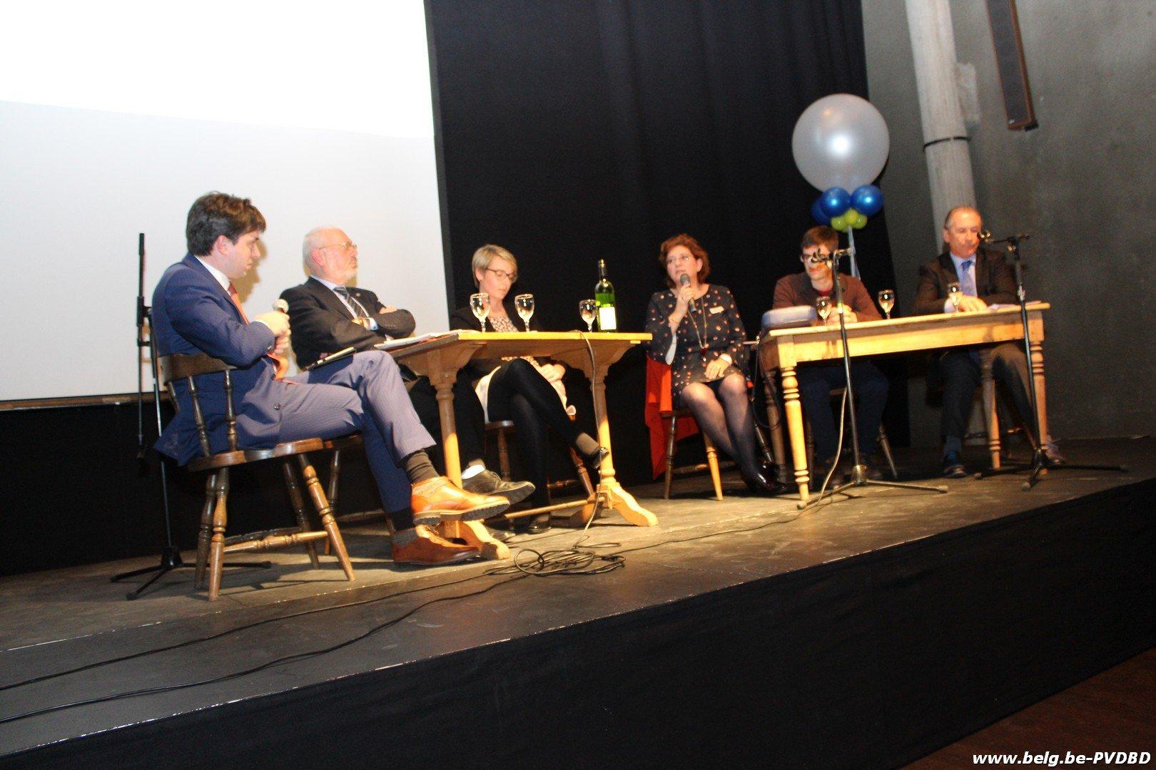 Politiek debat als nieuwjaarsreceptie DUO - IMG 6022