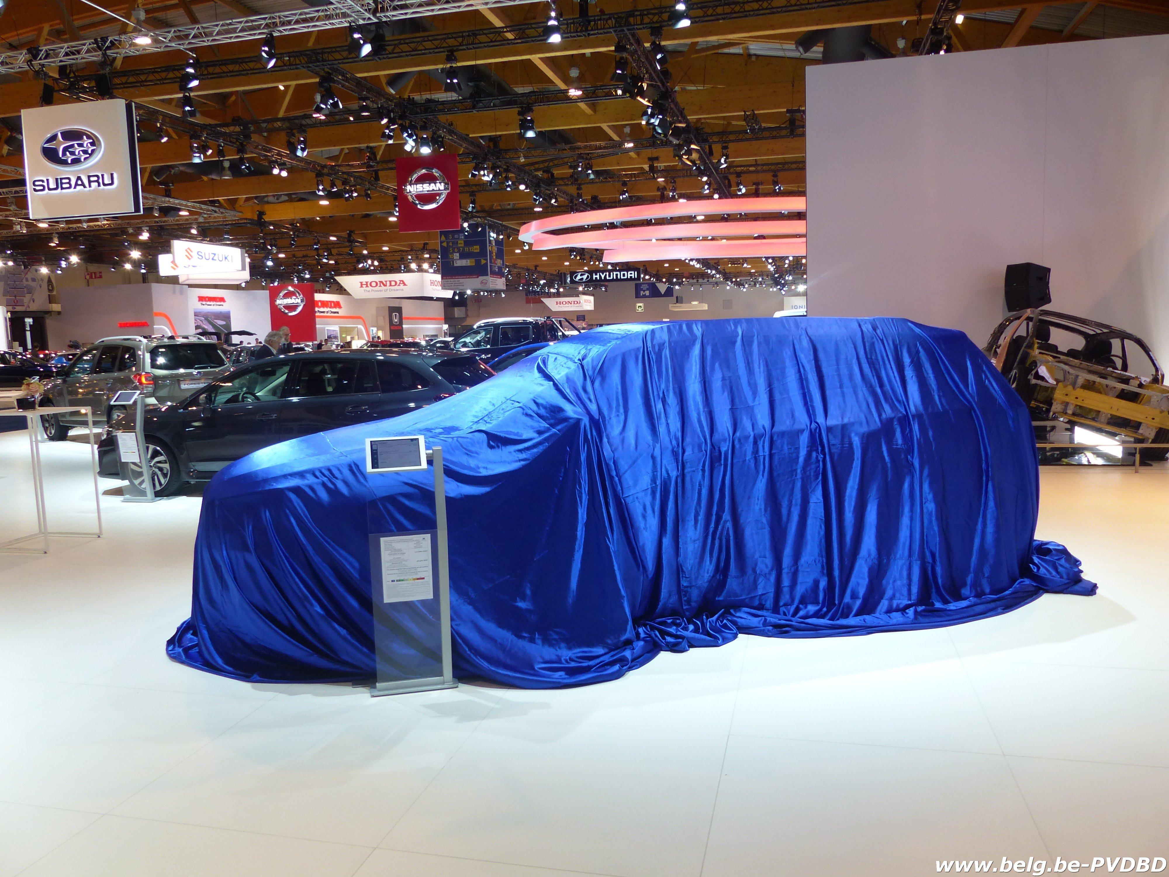 Brussel klaar voor 96e auto- en motorsalon - P1110993