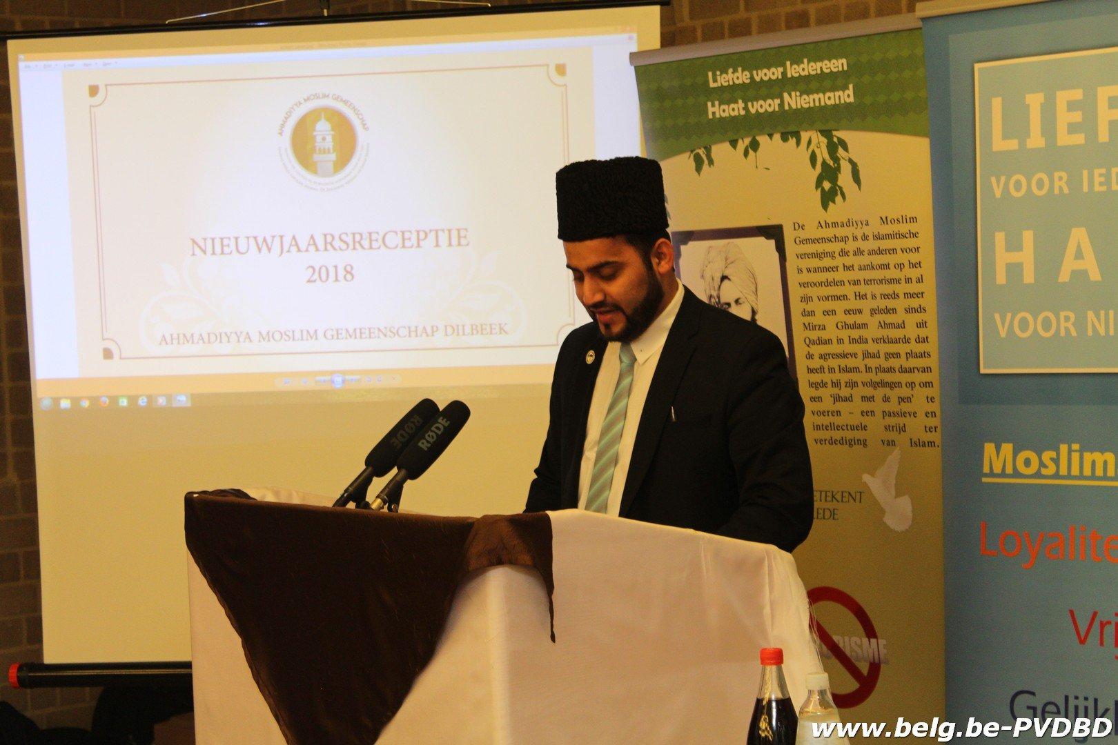 Gezellige nieuwjaarsreceptie bij Ahmadiyya Moslim gemeenschap van Dilbeek - IMG 6387