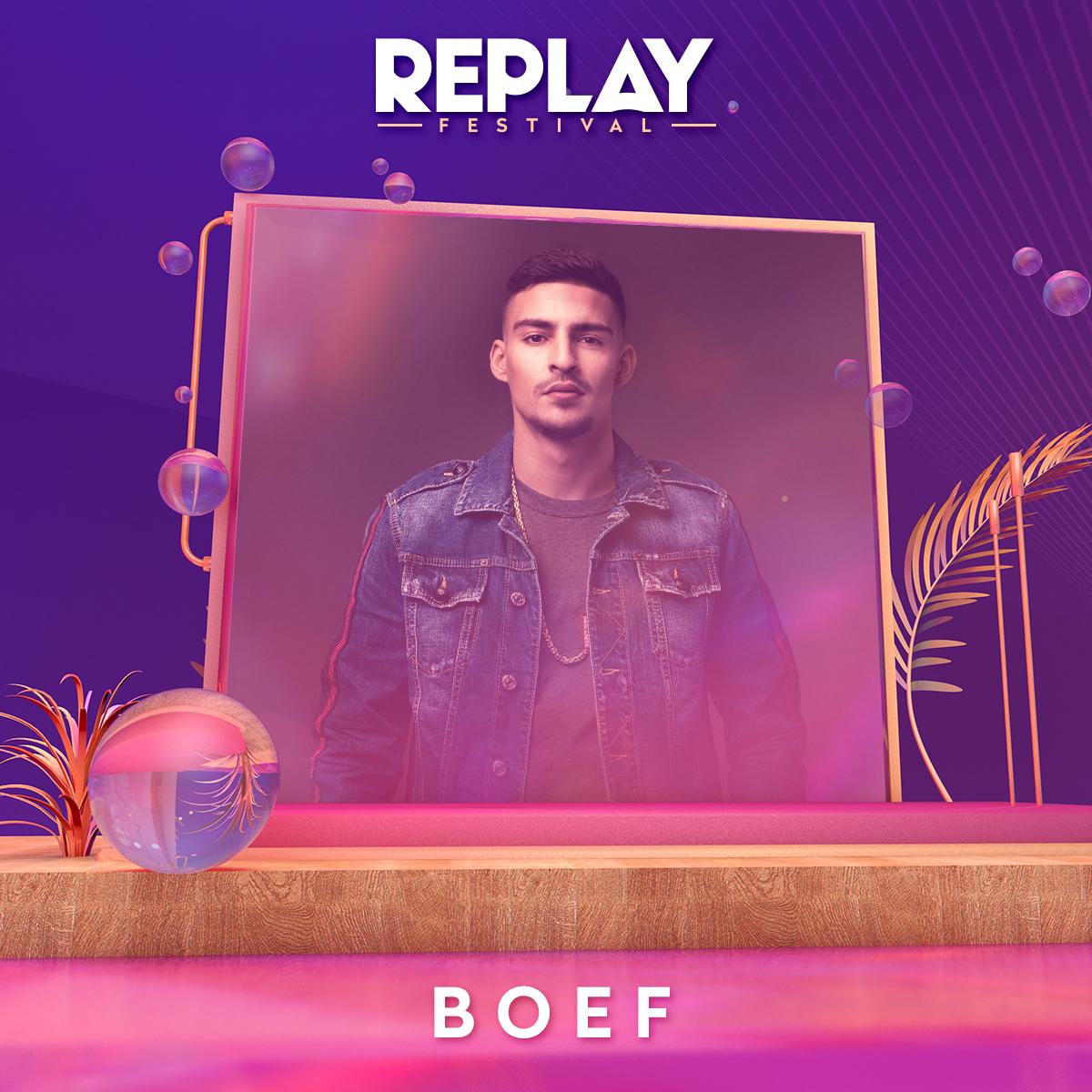 Boef komt met nummer één-hit naar het Replay Festival - BOEF1