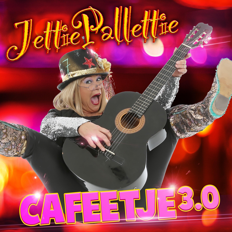 Jettie Pallettie warmt met 'Cafeetje 3.0' op voor haar nieuwe cd 'Pinten & Patatten' - Jettie Palletie Hoesje Cafeetje 3.0