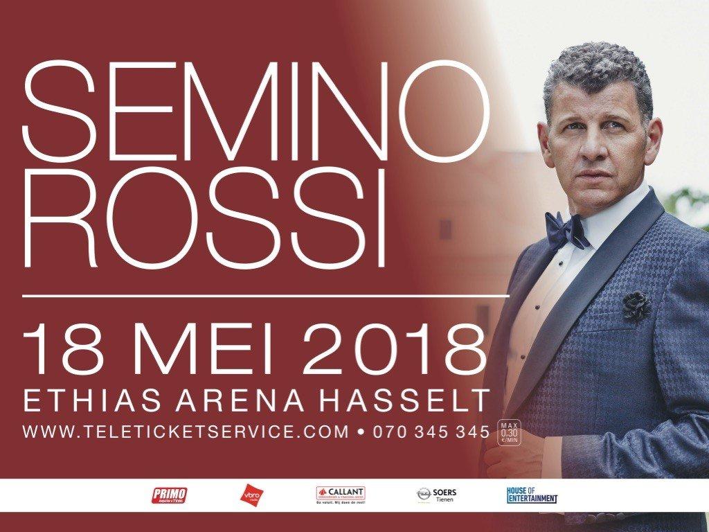 Semino Rossi brengt de 'Königin des Sommers' mee naar Hasselt - Semino Rossi 1