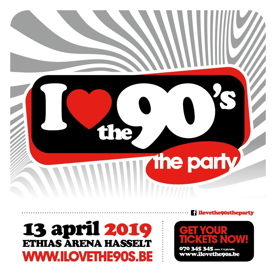Aqua, Right Said Fred en DJ Ward kleurden 11de I love the 90's - i love the 90s 2019