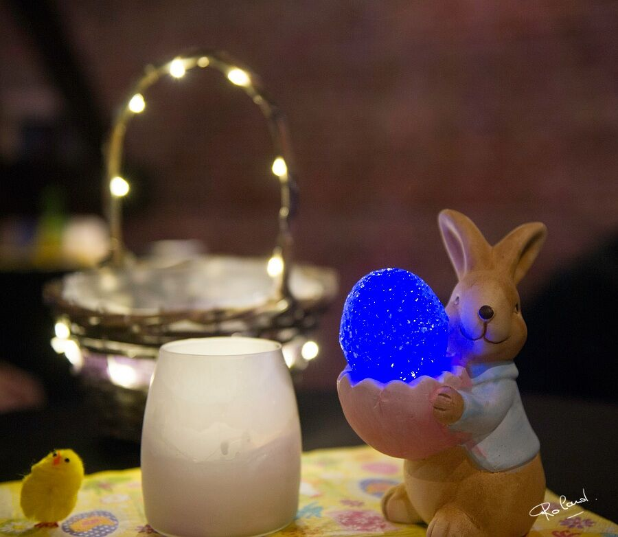 Bilzen Mysteries: Sterke start van de paasvakantie, dankzij de zoektocht naar gouden en lichtgevende paaseieren! - verlichte paaseieren