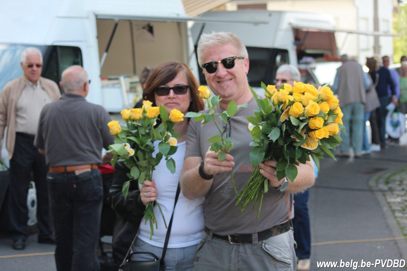 Précampagne N-VA Dilbeek start met moederdagactie - IMG 7556