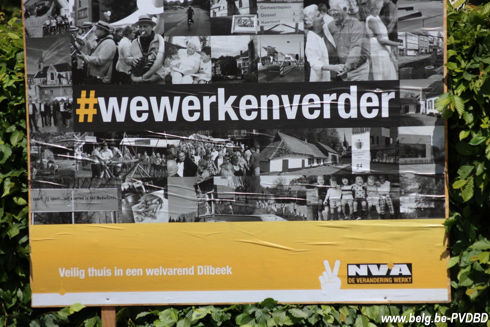 Précampagne N-VA Dilbeek start met moederdagactie - IMG 7589