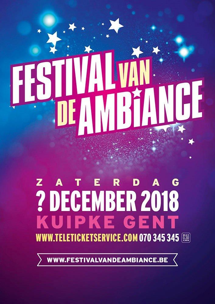 Lindsay, De Romeo's en primeur voor Get Ready! op Festival van de Ambiance - affiche festival van de ambiance 2018