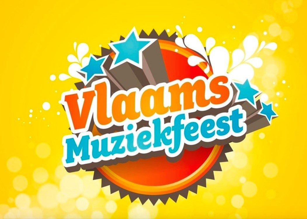Het Vlaams Muziekfeest trakteert op een gratis dorps en volksfeest - logo Vlaams Muziekfeest