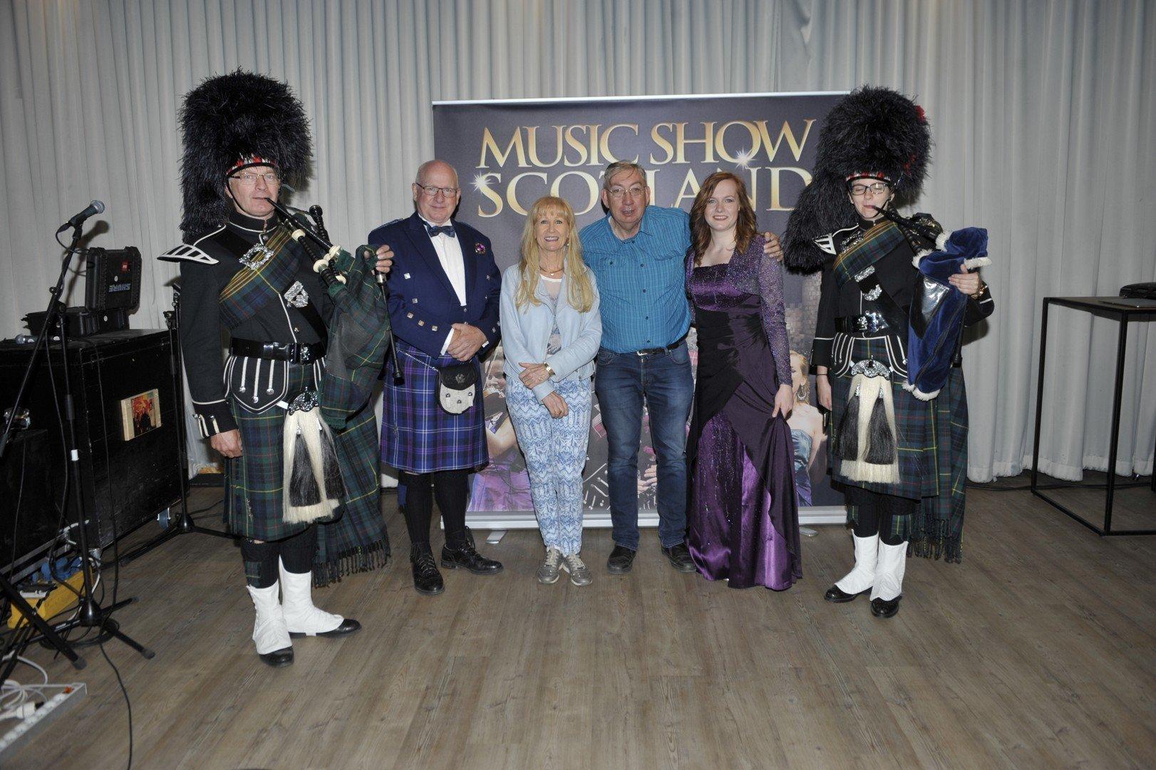 Micha Marah warmt op voor Music Show Scotland - Music Show Scoland met mezelf