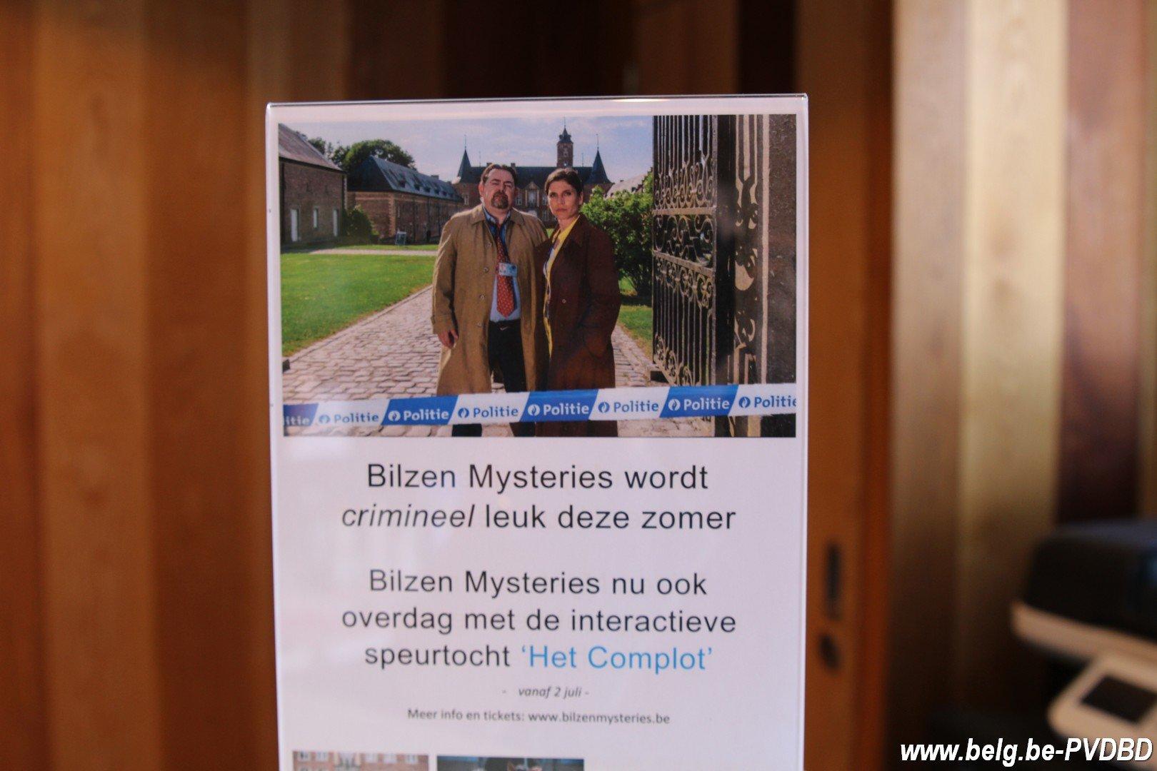 Het Complot: speur vanaf 3 juli mee met de dagattractie van Bilzen Mysteries - IMG 0063