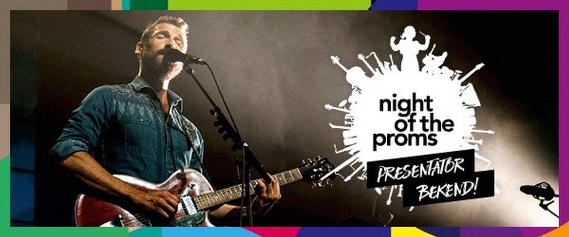 Pieter Embrechts in een dubbelrol op Night of the Proms - Pieter Embrechts 1