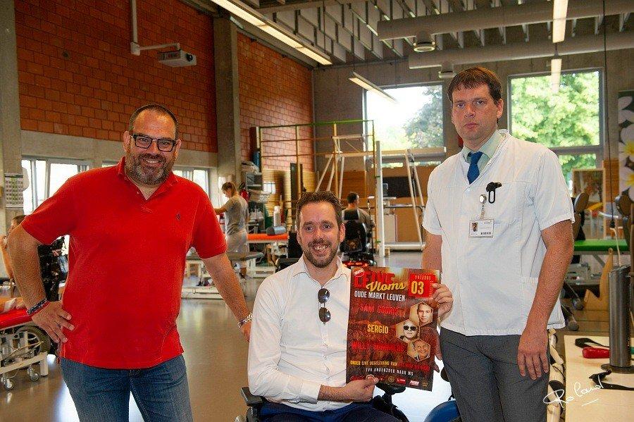 Leive Vloms haalt Sam Gooris, Sergio en Willy Sommers vrijdag naar de Leuvense Oude Markt - Leive Vloms 2