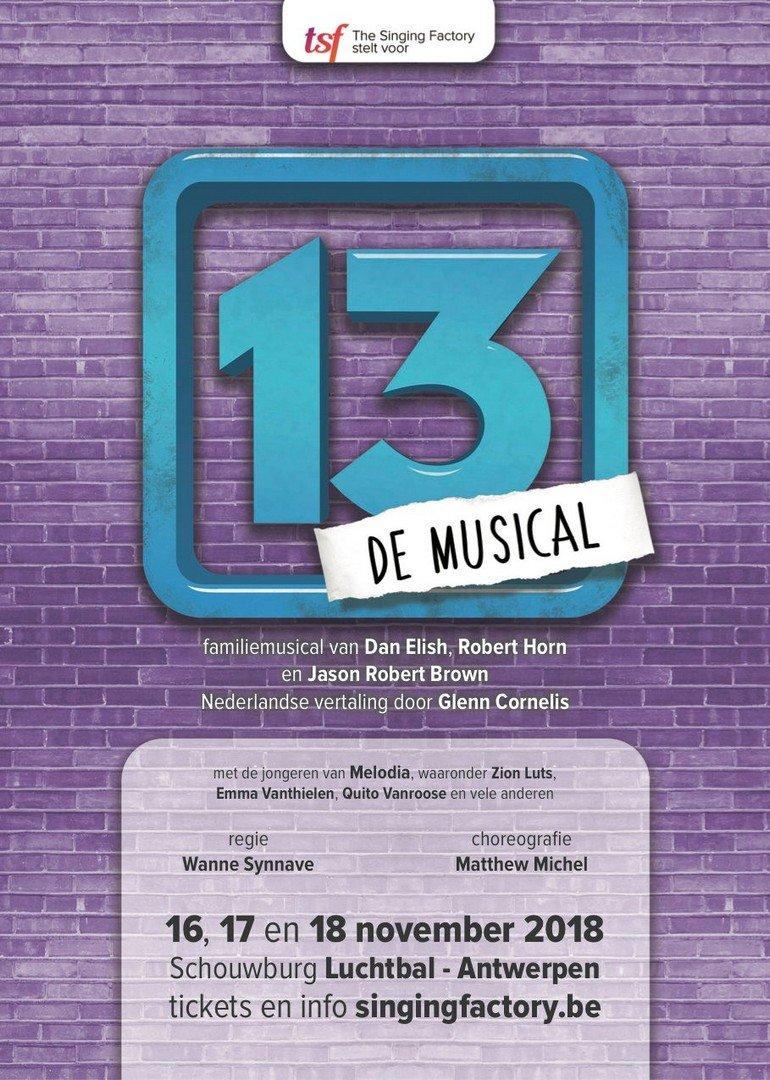 The Singing Factory (Berchem) presenteert jonge talenten van kidskoor - 13 De Musikal 1