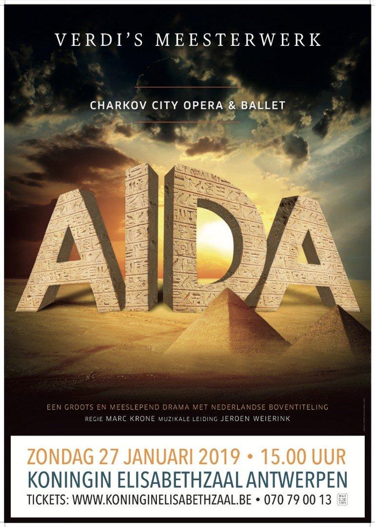 Charkov City Opera & Ballet komt terug naar Vlaanderen - Aïda 1