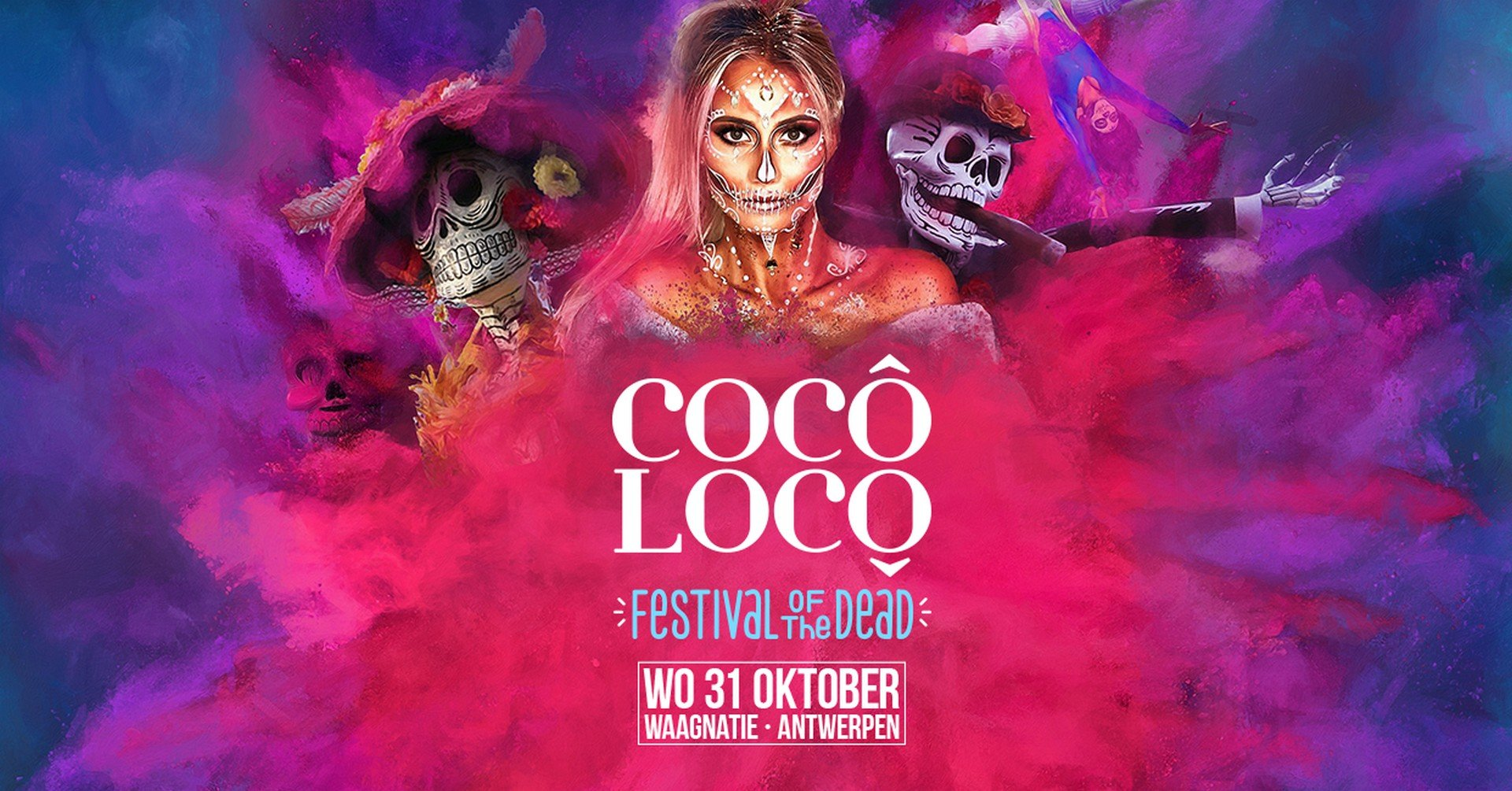 Cocô Locô - het festival van de doden komt naar Antwerpen - Coco Loco 1