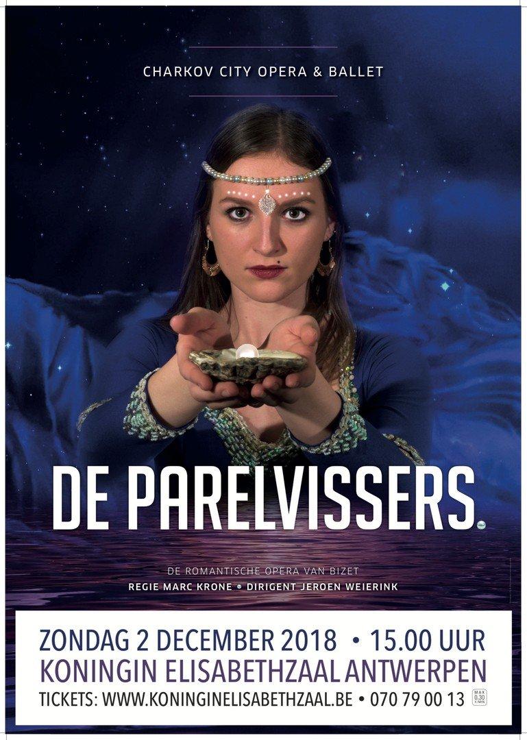 Charkov City Opera & Ballet komt terug naar Vlaanderen - De Parelvissers 1