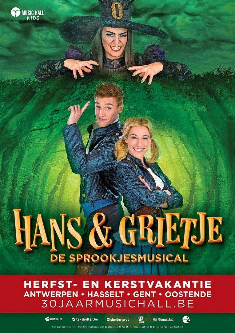Music Hall lanceert eerste single én clip van gloednieuwe sprookjesmusical - Hans en Grietje 8