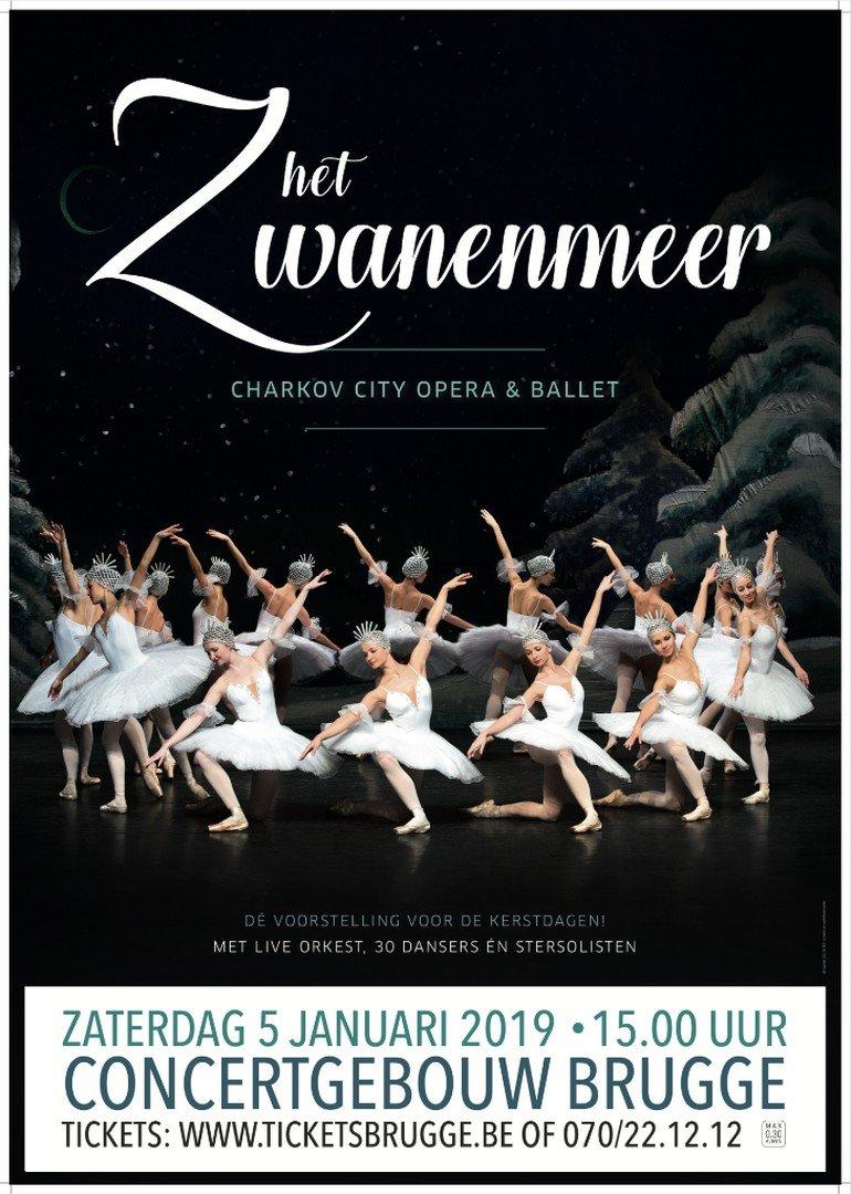 Charkov City Opera & Ballet komt terug naar Vlaanderen - Het Zwanenmeer 1