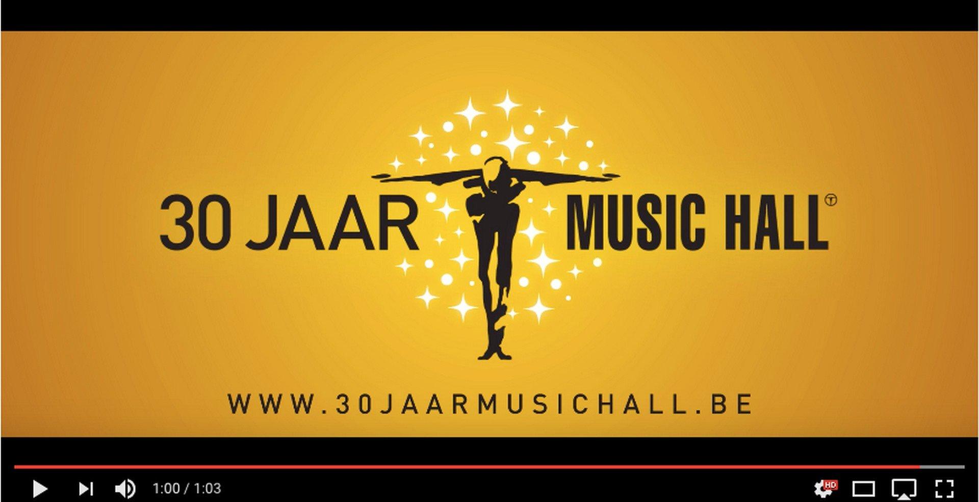 Music Hall Classics brengt prachtige balletten in seizoen 2018 - 2019 - Logo Music Hall 30 jaar