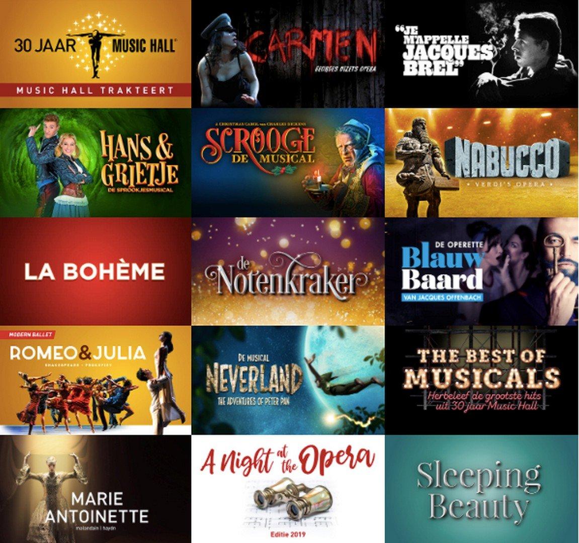 Music Hall presenteert heerlijk seizoensaanbod - Musicals 1