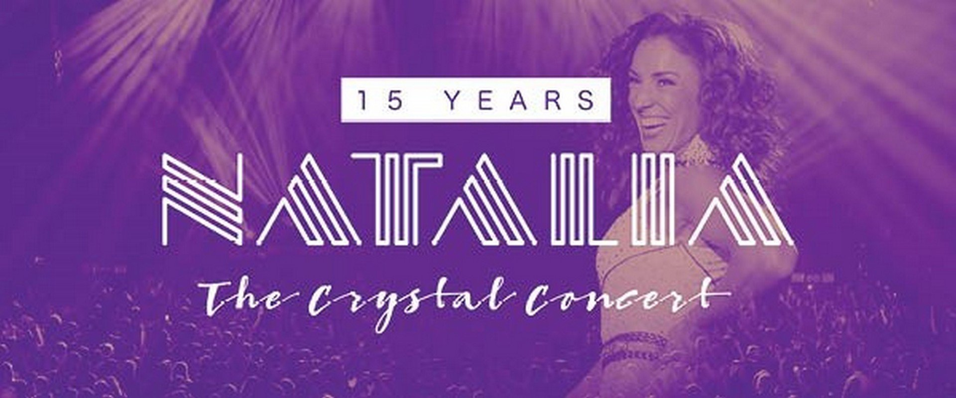 EXTRA 15 YEARS NATALIA THE CRYSTAL CONCERT - Nathalia 15 Years logo