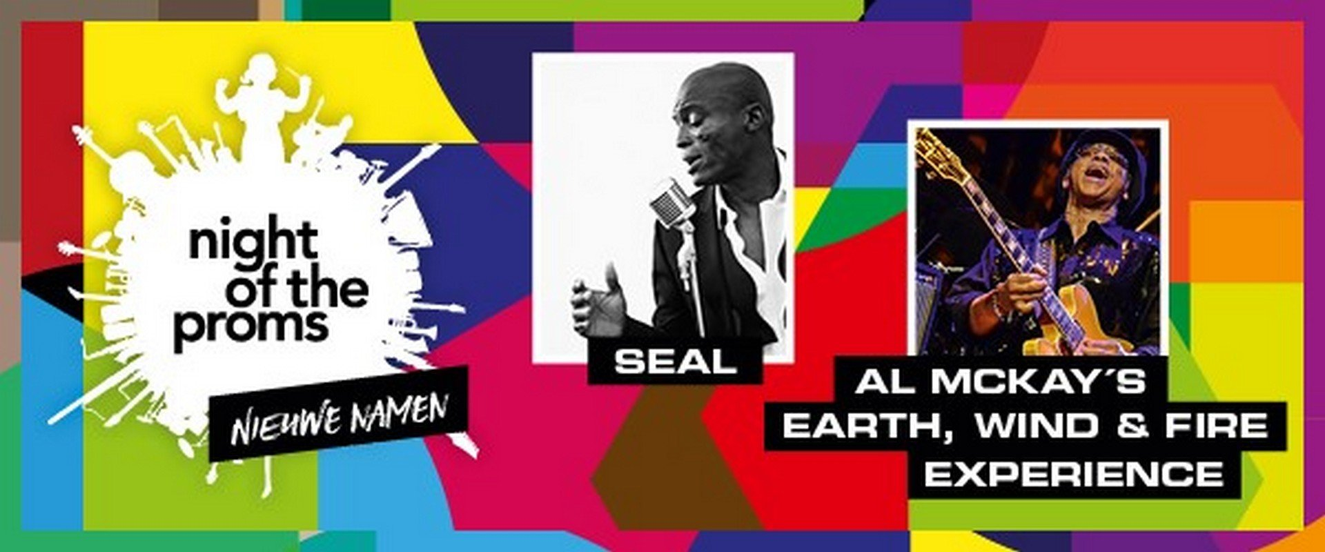 SEAL VERVOLLEDIGT PROGRAMMA NIGHT OF THE PROMS - Night Of The proms affiche