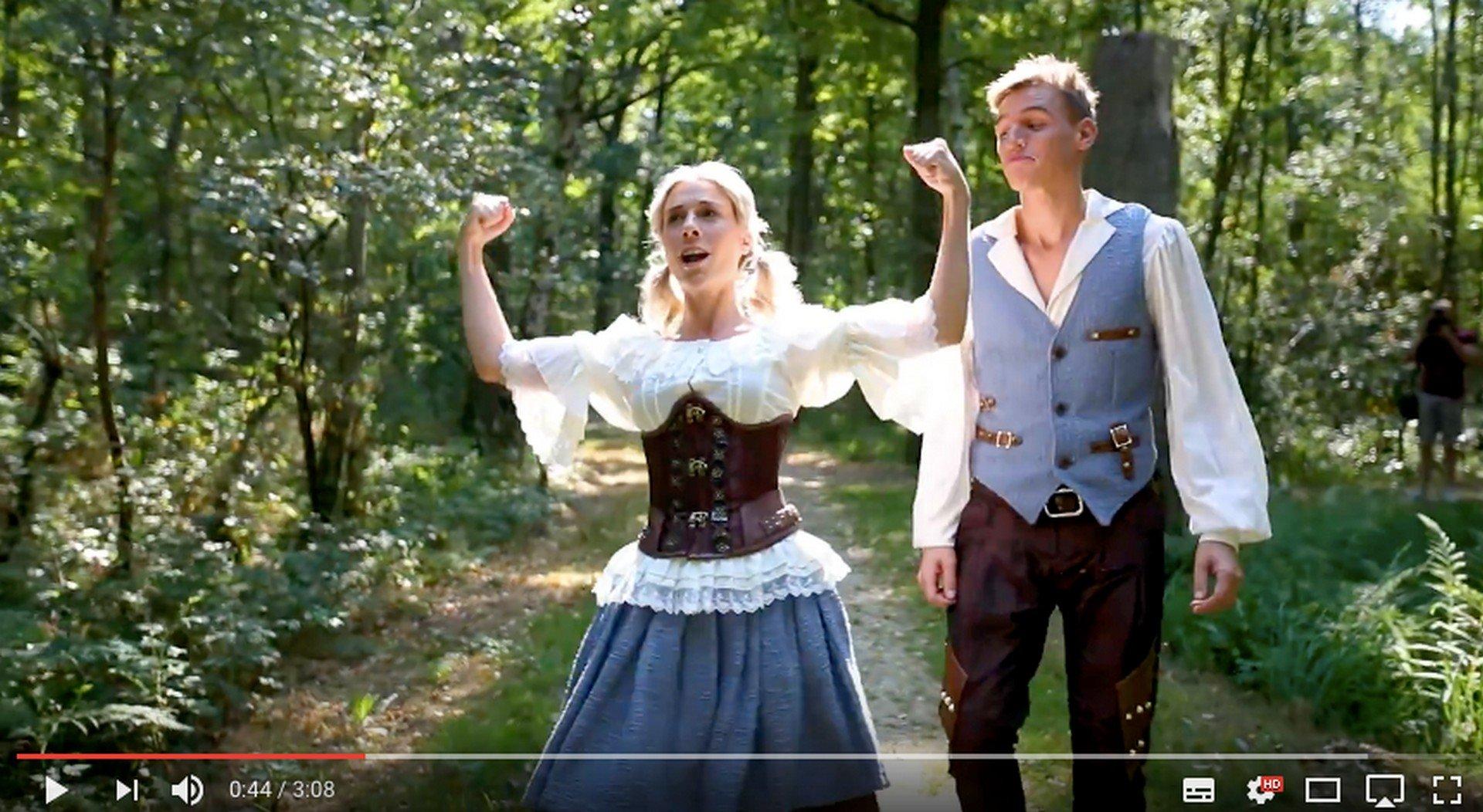 Music Hall lanceert eerste single én clip van gloednieuwe sprookjesmusical - ns en Grietje 7