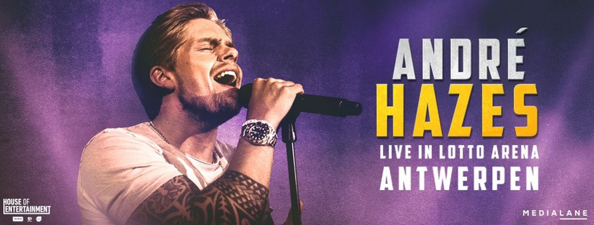 Christoff special guest op Lotto Arena-concert André Hazes! - Andre hazes 1
