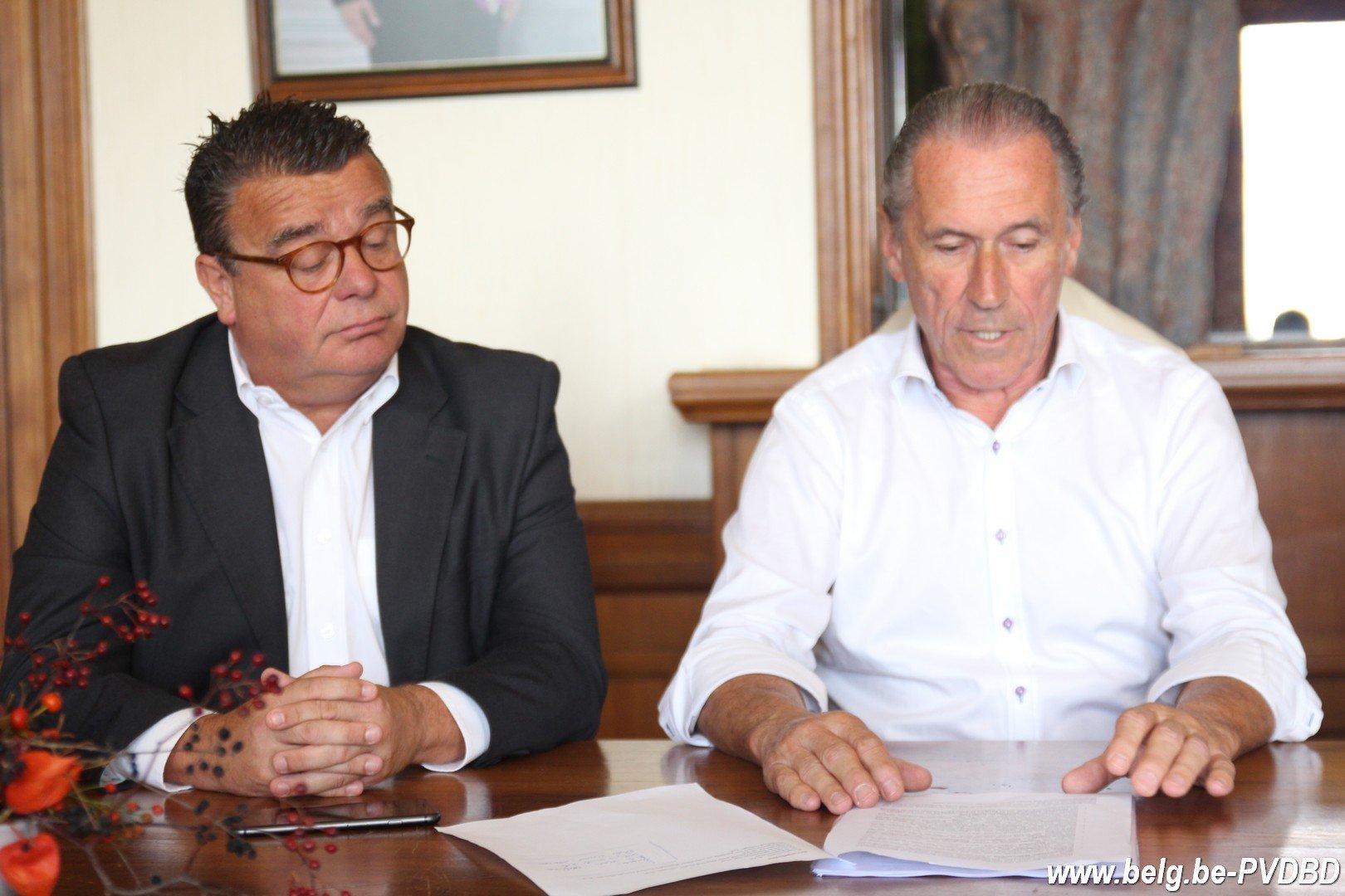 Gesprekken in Dilbeek afgerond Segers blijft burgemeester - IMG 2041