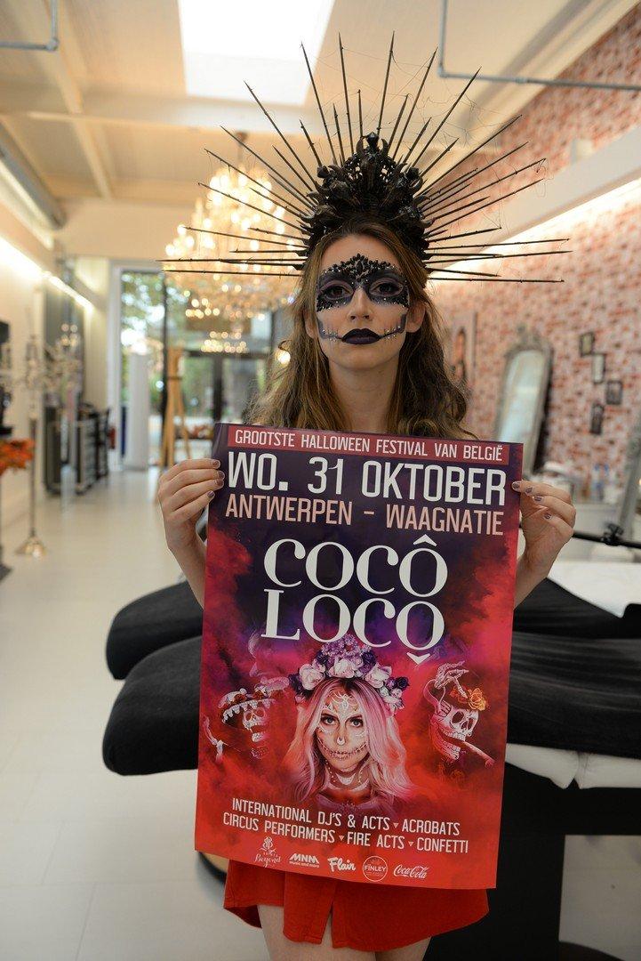 Familie'-actrice en RTV-gezicht Jasmijn Van Hoof houdt van Halloween - Jasmijn Van Hoof 2