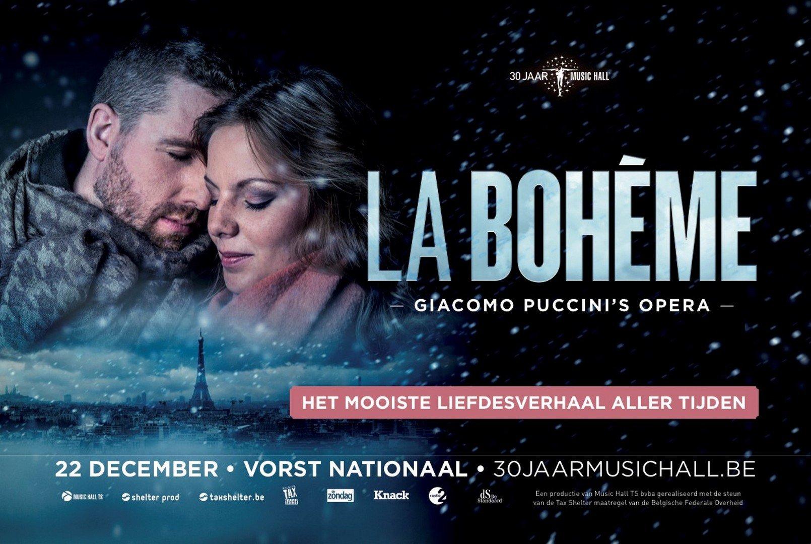 Music Hall Classics presenteert de arenaversie van Puccini 'La Bohème' - La Bohéme 1