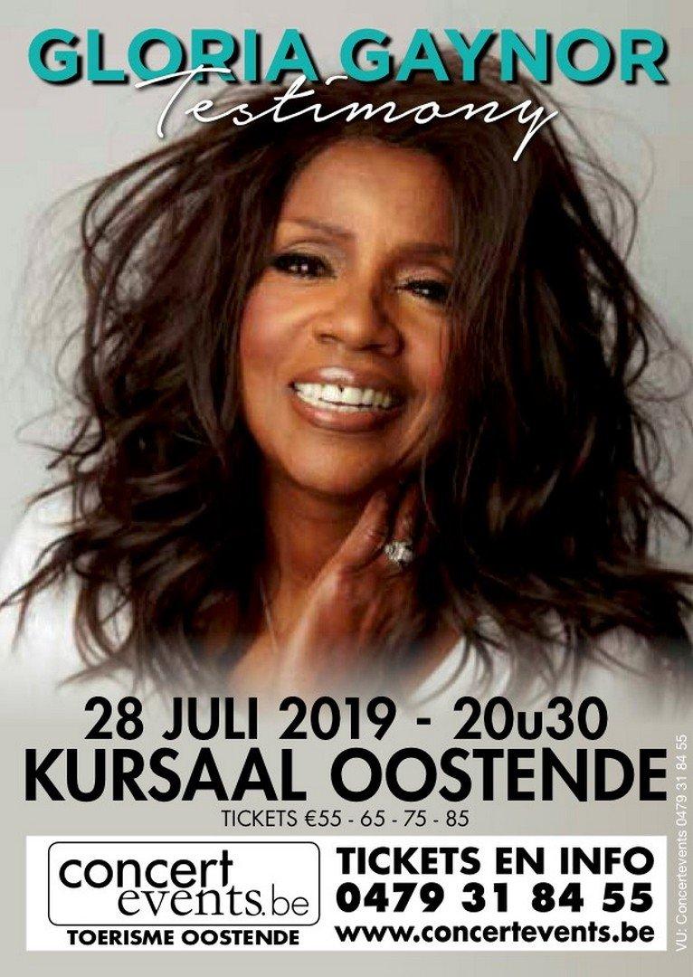Disco queen Gloria Gaynor komt op 28 juli naar Oostende - Gloria Gaynor 2