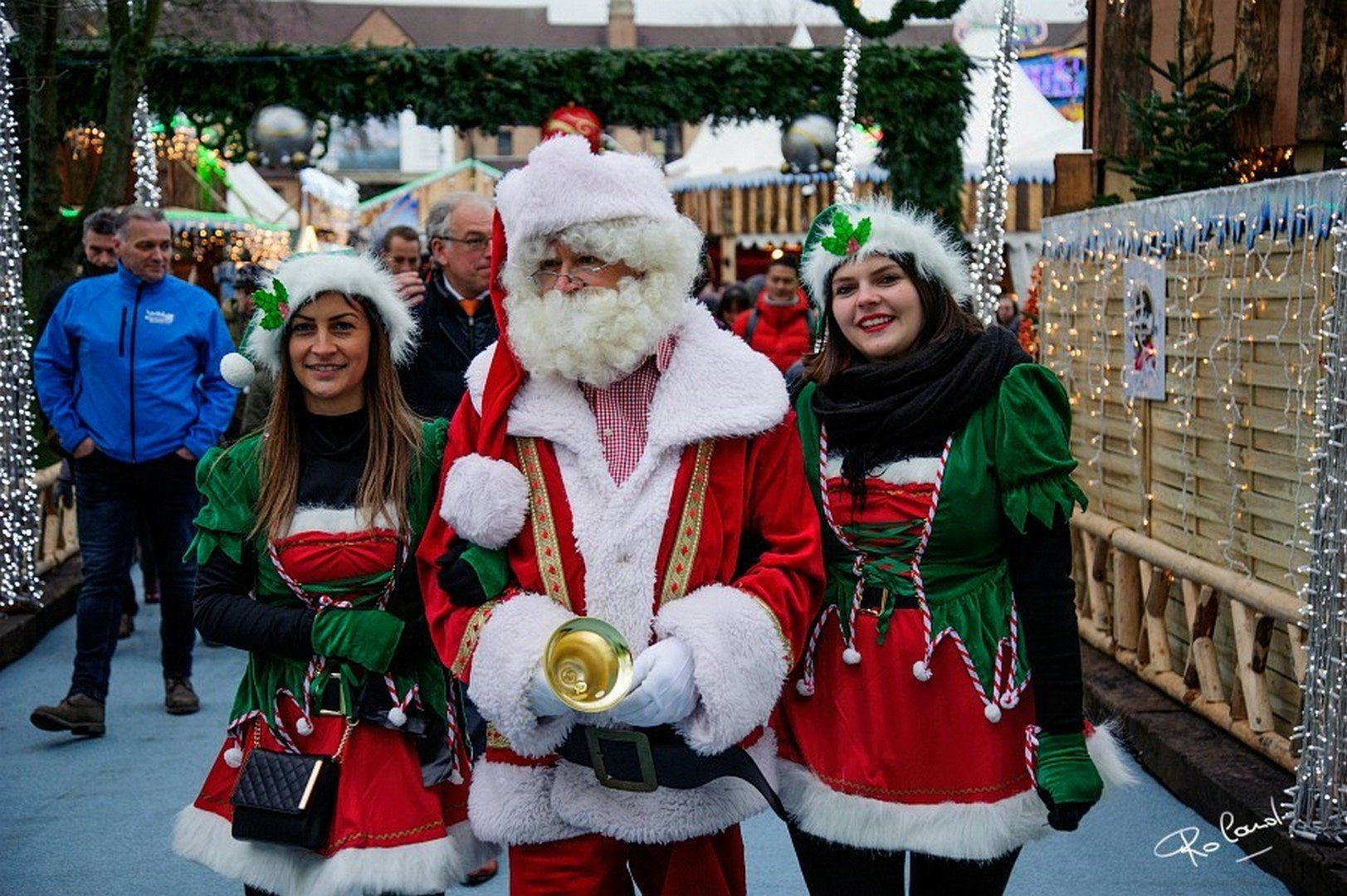 Hasselt is klaar voor de nationale intocht van de Kerstman! - Kerstsfeer 3