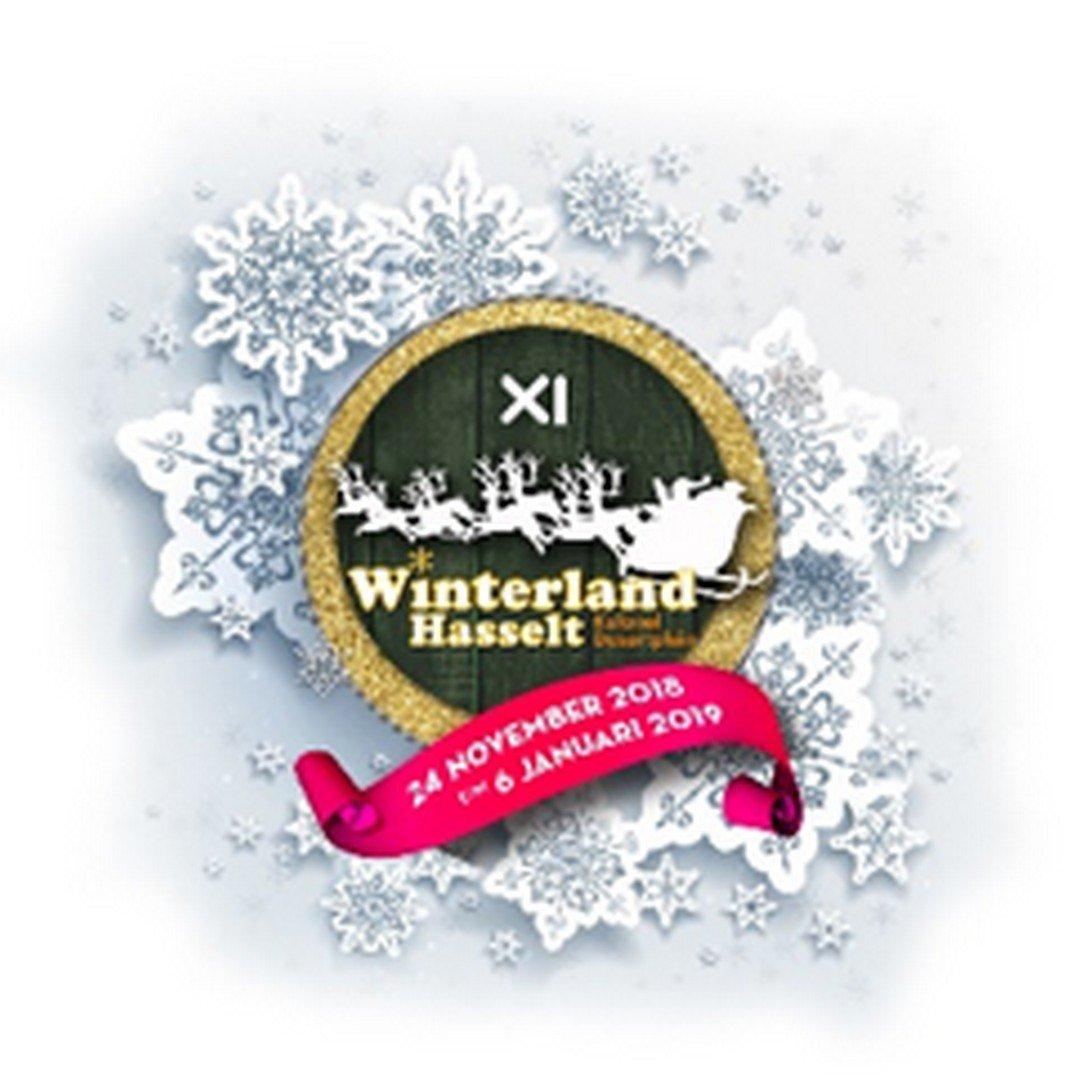 Ook De Romeo's bezwijken aan de kerstgekte - Logo Winterland Hasselt 2018
