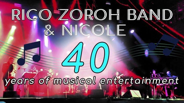 De Rico Zoroh Band & Nicole vieren volgend jaar 40 jaar op de planken!