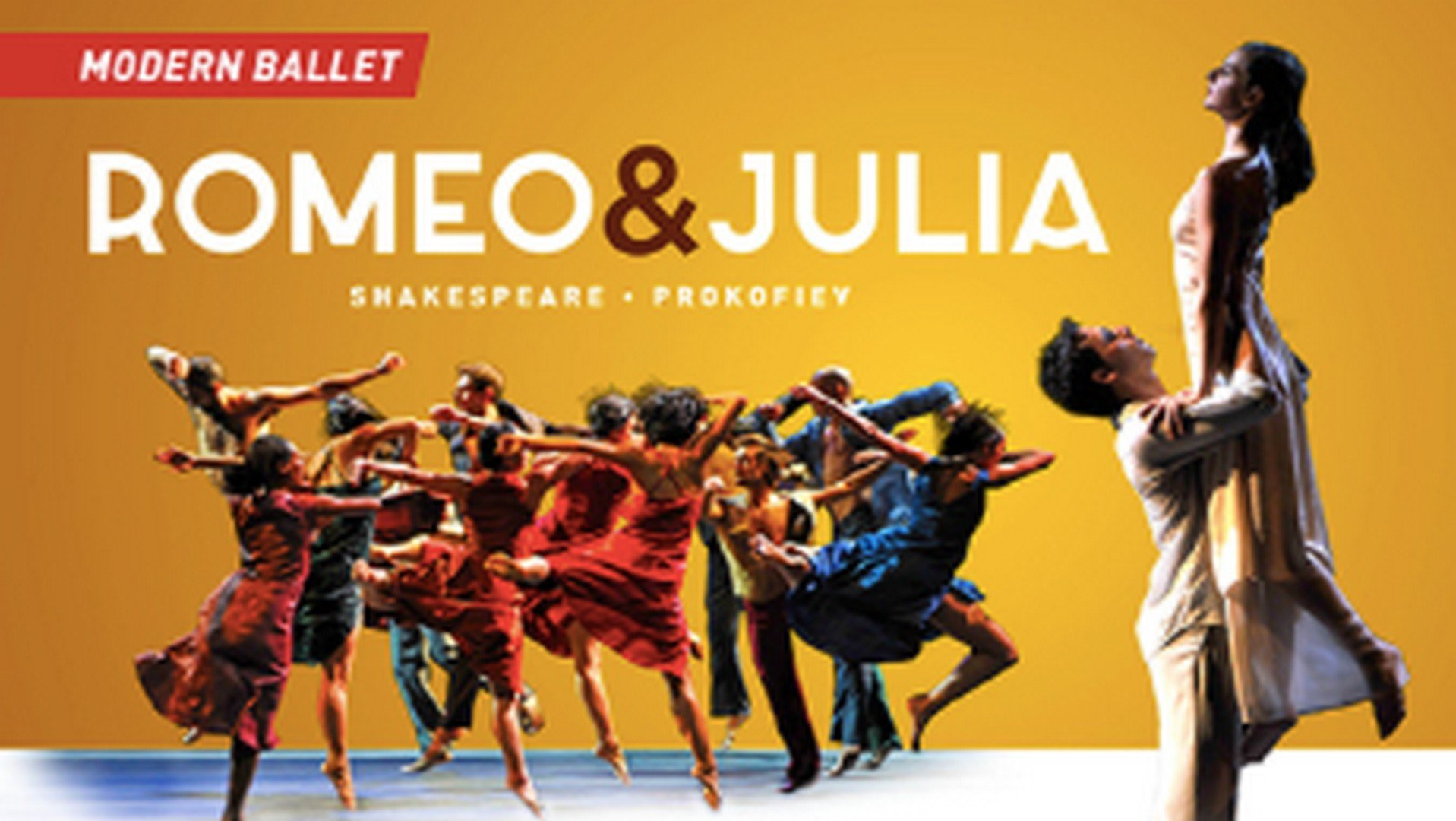 Music Hall Classics en Ballet du Grand Théâtre de Genève brengen  'Romeo & Julia'  als modern dansspektakel - Romeo en Julia 1