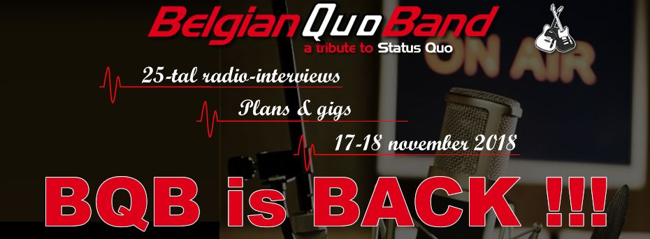 Belgian Quo Band is back!!! - qb1