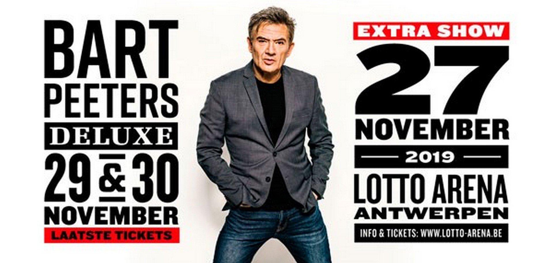 Bart Peeters geeft extra concert in de Lotto Arena - Bart Peeters 2